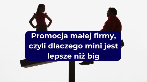 Promocja małej firmy