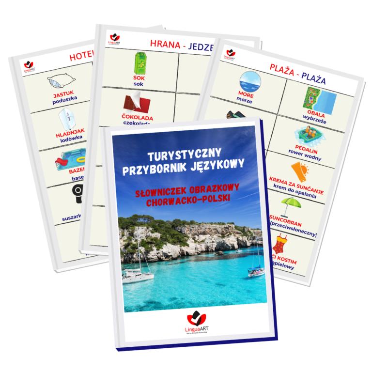 Turystyczny przybornik językowy - słowniczek obrazkowy chorwacko-polski - Lingua-Art