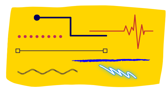 linie w  Instakaruzeli